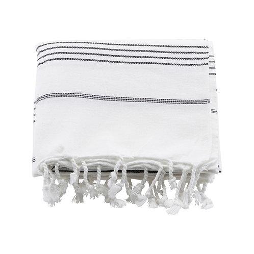 Meraki, Hammam Håndklæde - Hvid, 180x100cm