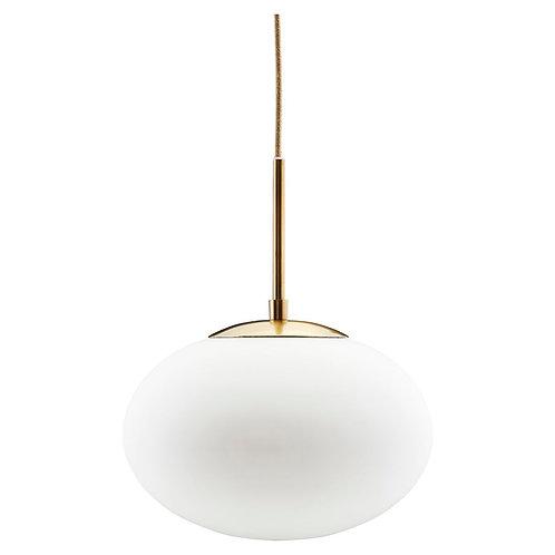 House Doctor, Pendel lampe - Opal hvid ø30cm