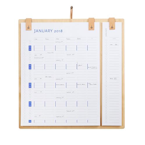 By Wirth, Kalender 2020/21