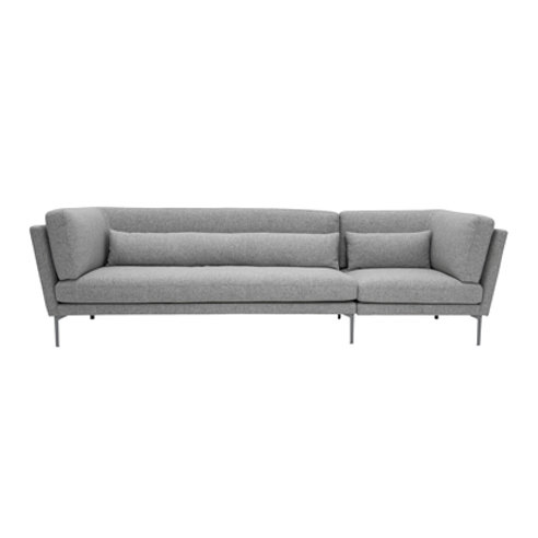 Blommingville, Sofa - Rox, grå uld
