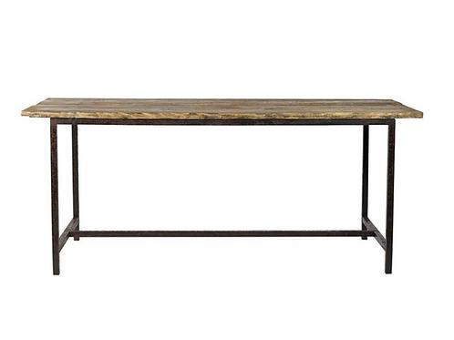 Nordal, Spisebord i træ og metal - 180x70