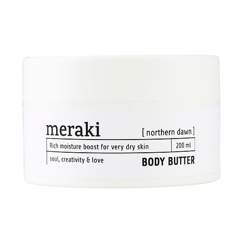 Meraki, Body Butter - Northern Dawn 200 ML.