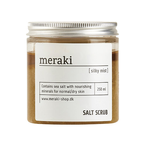 Meraki, Salt Scrub - Silky Mist, 250ml