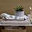 Thumbnail: Bloomingville - Håndklæde, Hvid, Bomuld - 150x90cm