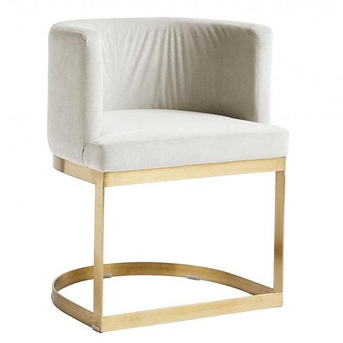 Nordal, Lounge Spisebordsstol - cremehvid