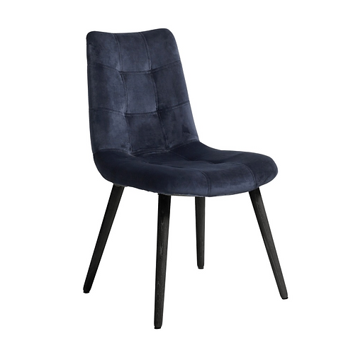 Nordal, Dinner Spisebordsstol -blå/sort