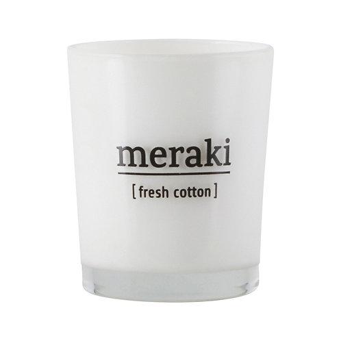 Meraki, Duftlys - Fresh Cotton