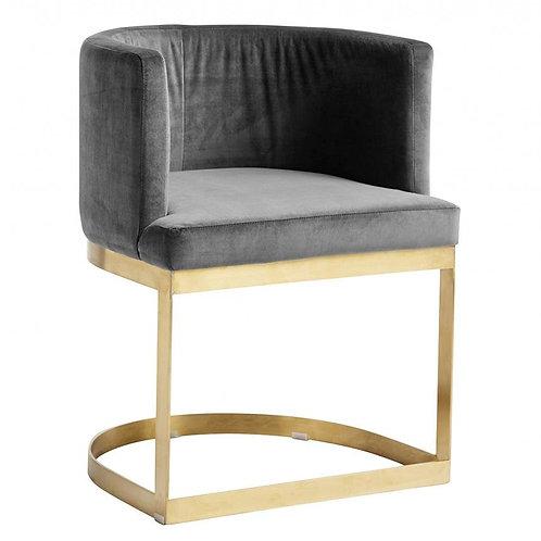 Nordal, Lounge Spisebordsstol - grå