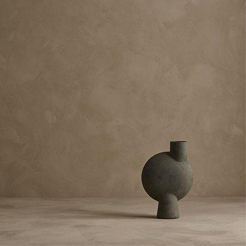 101CPH, Vase - Sphere Vase Bubl, Midi, mørkegrå