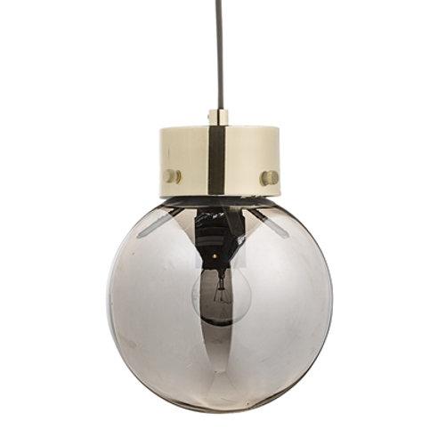 Bloomingville, Pendel - Glas/sølv - H22 Ø18