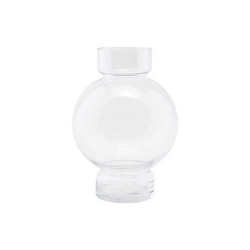 House Doctor, Vase - Bubble, klart glas