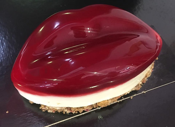 Cheesecake framboise yuzu