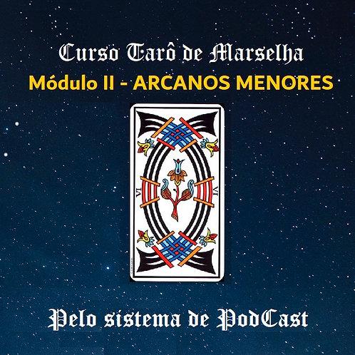 Tarô de Marselha: Módulo II - ARCANOS MENORES