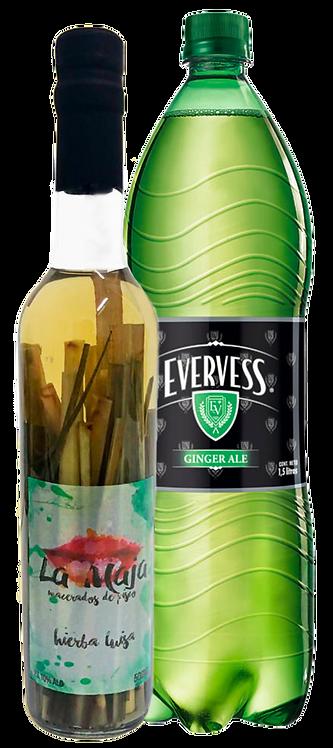 Macerado de hierba luisa 500ml + Evervess 1.5L
