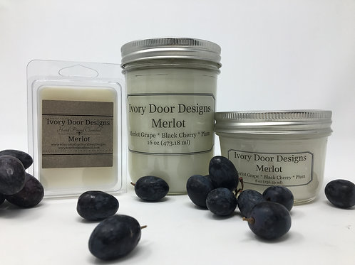 Merlot Soy Candle