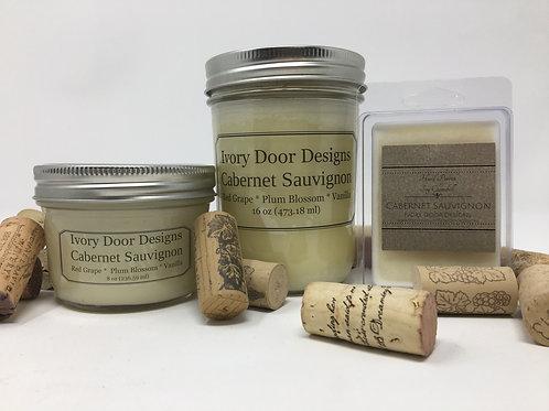 Cabernet Sauvignon Soy Candle