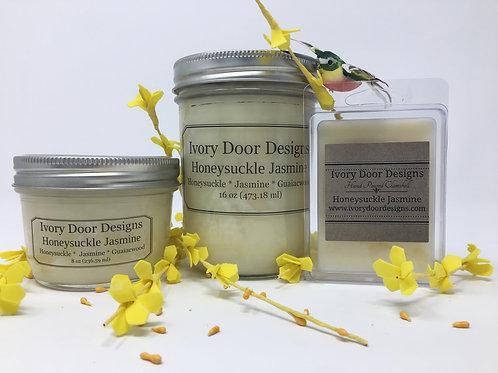 Honeysuckle Jasmine Soy Candle