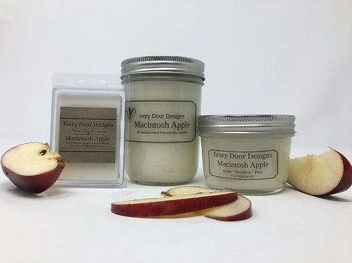 Macintosh Apple Soy Candle