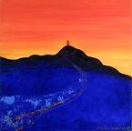 Tor Sunset by Angela Watson