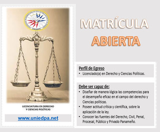 Estudia Licenciatura en Ciencias Políticas y Derecho.