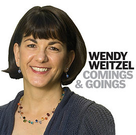 Wendy Weitzel writes a business column called Comings & Goings, which has run since 2001 in The Davis Enterprise.