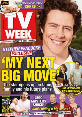 Steven Peacocke | TV Week May 2019