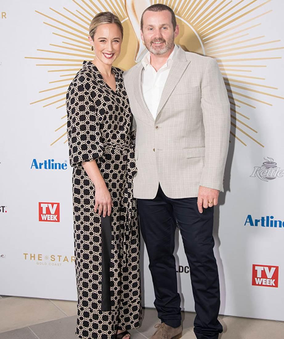 Eve Morey & Ryan Moloney | 2019 Logies Nominations Event