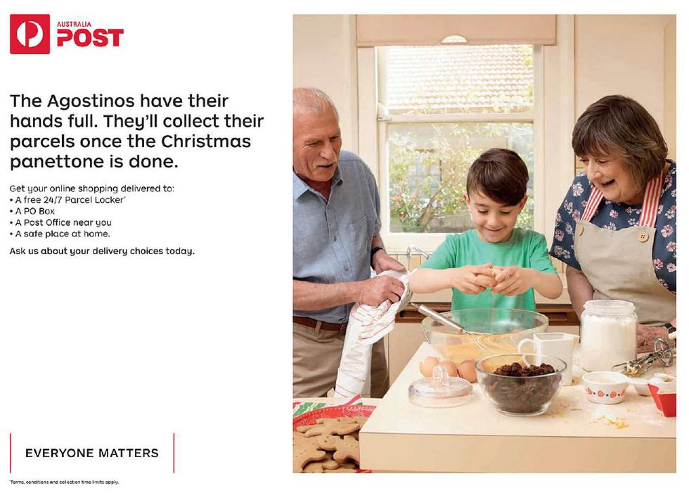 Australia Post Christmas Campaign 2018 | Cummins & Partners & Miss Bossy Boots
