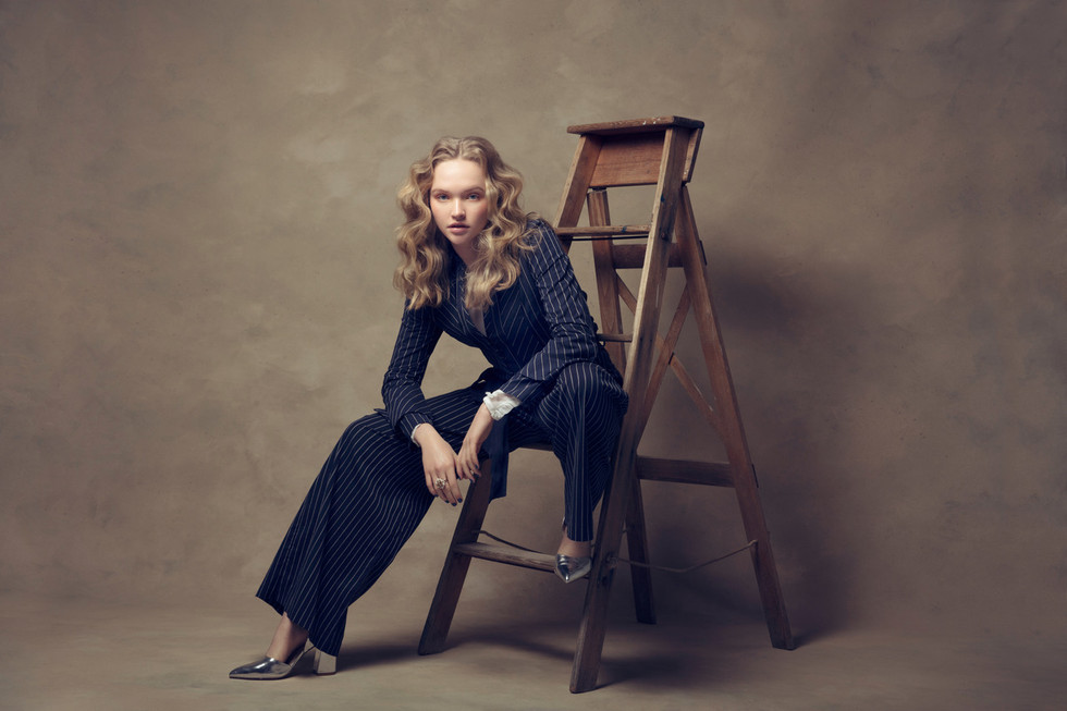 Photo - Annis & Barton | Model - Cate Bennett | Hair - Alex Newman | MUA - Leonie Karagiannis