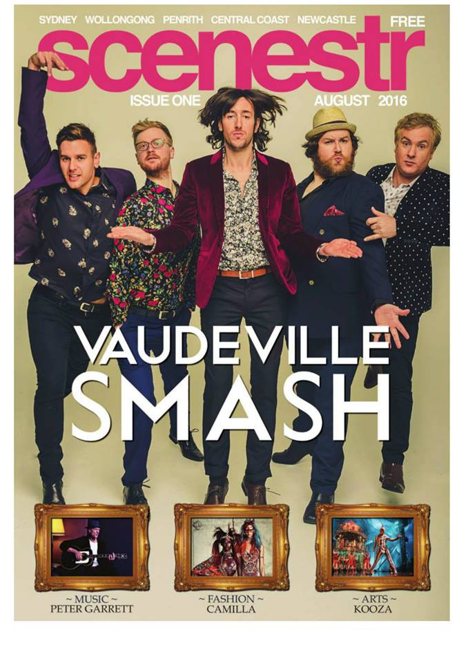 Vaudeville Smash Publicity Shoot