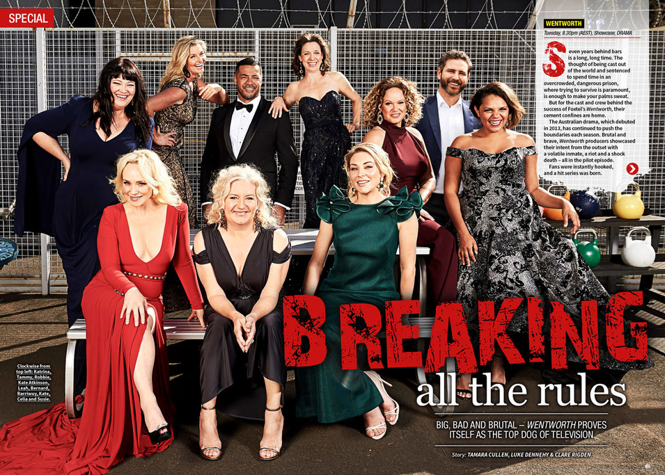 Wentworth Cast | TV Week Special May 2019