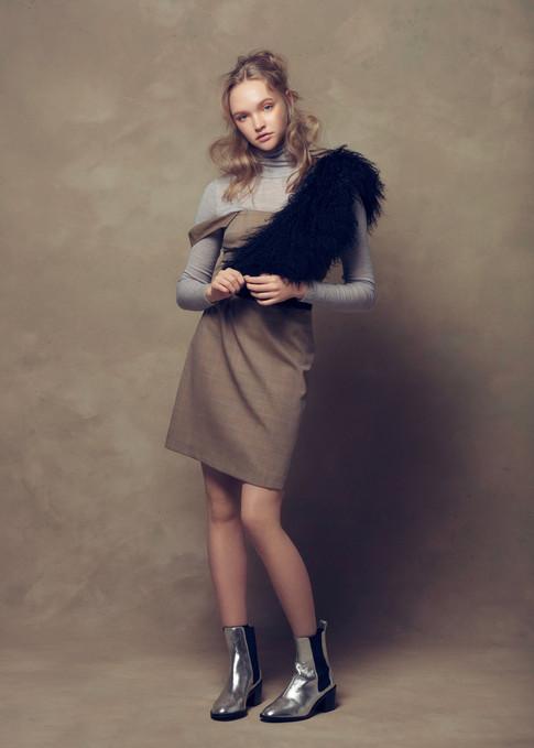 HAIRDRESSERS JOURNAL INTERNATIONAL | Photo - Annis & Barton | Model - Cate Bennett | Hair - Alex Newman | MUA - Leonie Karagiannis