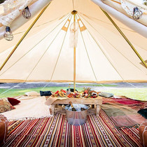 Our chill out tent looking spectacular ?