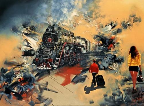 Zhong Biao: Finding Beauty in Chaos