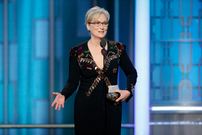 You Go, Meryl...and Emma, and Ingrid, and...