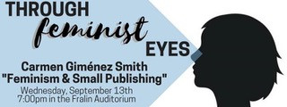 Through Feminist Eyes: Carmen Gimenez Smith