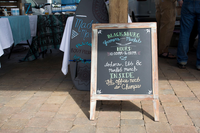 Buy, Eat, Live Local in Blacksburg