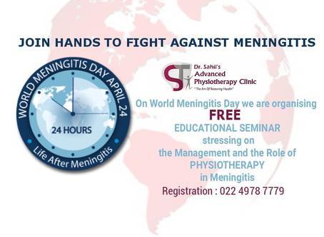 World Meningitis Day 24th April