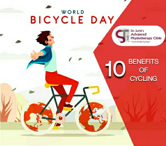 Reguar cycling gives you following 10 health benefits