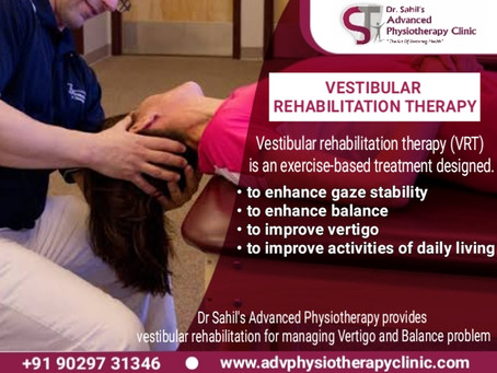 Vestibular Rehabilitation Therapy ( VRT )