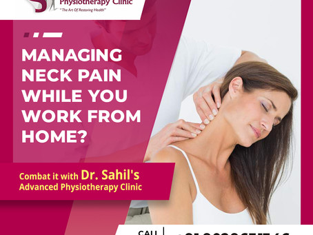 Managing Neck Pain while you work from home ?