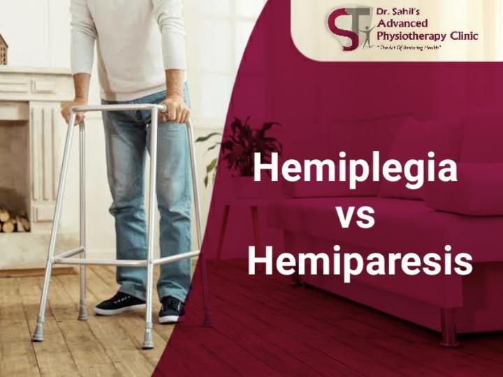 Hemiplegia vs Hemiparesis
