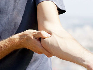 Physiotherapy treatment for golfers elbow at Dr Sahil's Advanced Physiotherapy Clinic in thane