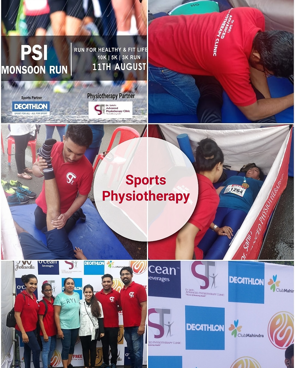 Sports Physiotherapy For Mansoon Marathon