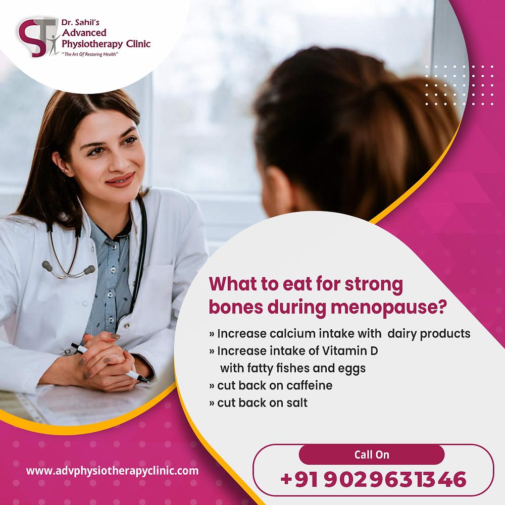 Strong bones during pregnancy