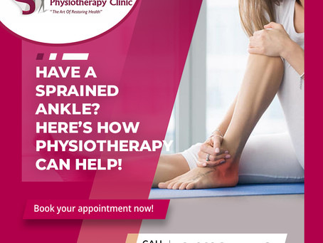 Have a Sprained Ankle ?