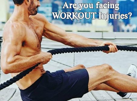 Common workout injuries include: