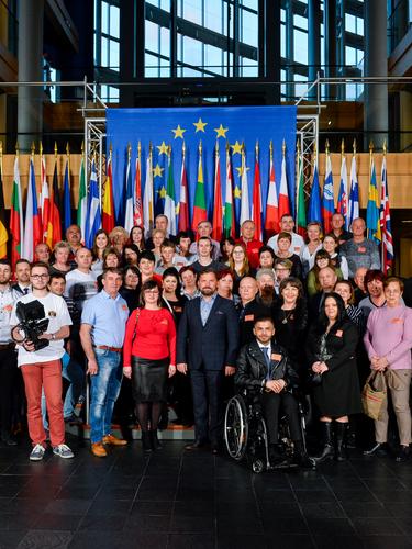 Kedves vendégeimmel egész Szlovákiából, kiküldetésem utolsó csoportjával