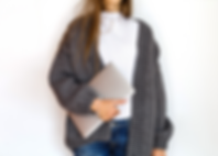 stylish-business-woman-using-laptop-in-m