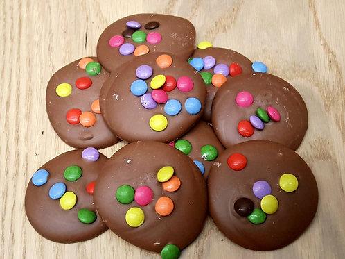 Snoepschijfjes melk chocolade